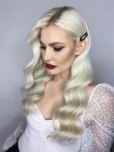 Hollywood Makeup Styling für Hochzeit
