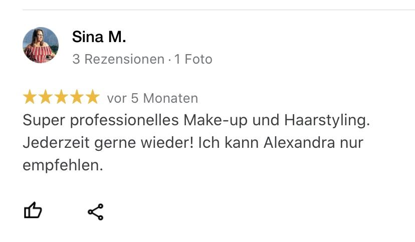 Alexandra Lederer Brautstylist München