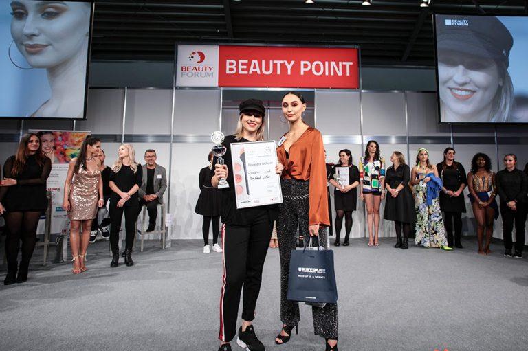 2. Platz International Masters Award Make-up Meisterschaft