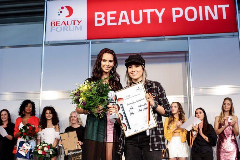 1. Platz Deutsche Make-up Meisterschaft