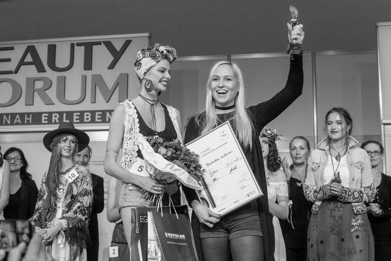2. Platz Deutsche Make-up Meisterschaft